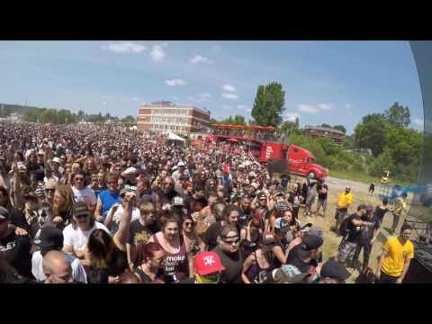 Max & Igor Cavalera  Back to roots at Amnesia Rockfest 2016