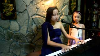 "Clarity - Zedd ft. Foxes ""live"" cover by Isabel Iris,13 & Shekinah Sofia,7"