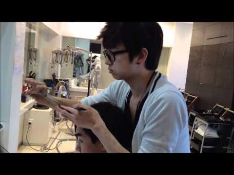 Asian guys korean style disconnected haircut  YouTube