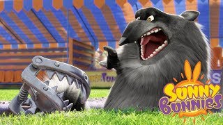 Cartoons for Children | SUNNY BUNNIES - TRAPPED WOLF | Funny Cartoons For Children