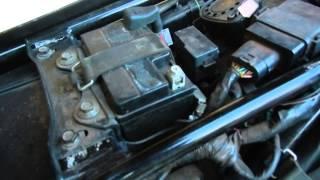 Teste e substituição de relé de partida Yamaha XTZ250 Lander