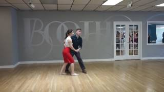 Learn To Lindy Hop In A Day (fwd/back, popout, promenade, circle, charleston, dip)