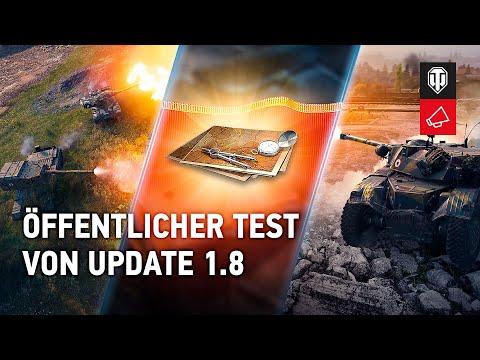 Update 1.8. Öffentlicher Test [World of Tanks Deutsch]