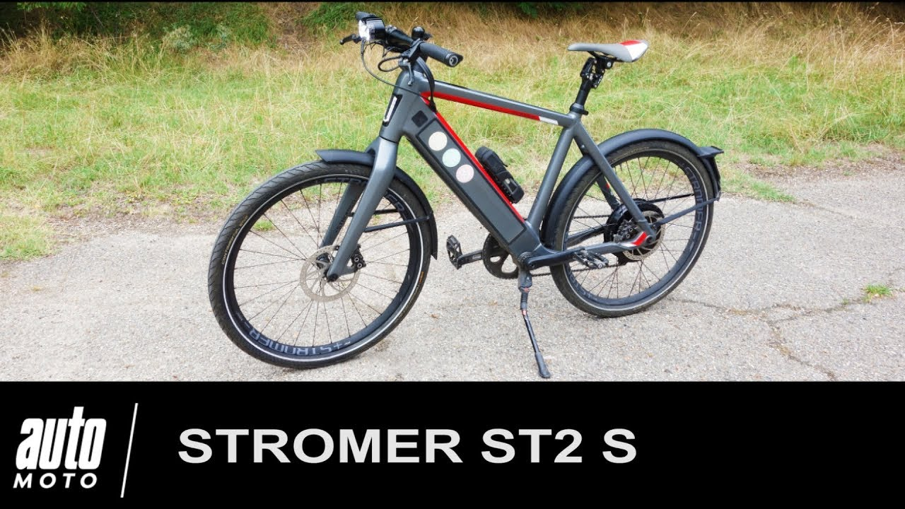stromer st2 s v lo lectrique de luxe essai auto youtube. Black Bedroom Furniture Sets. Home Design Ideas