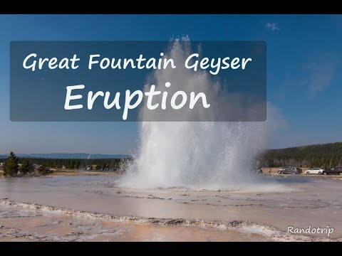 Great Fountain Geyser Yellowstone National Park