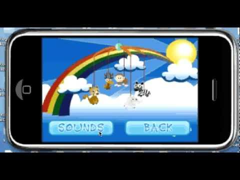 Baby toy iPhone app
