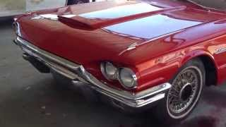 1965  ford thunderbird review walk around