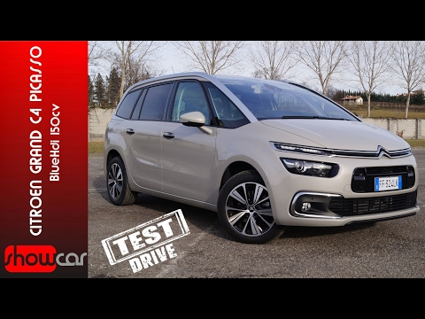 Citroen Grand C4 Picasso 2017 Test Drive