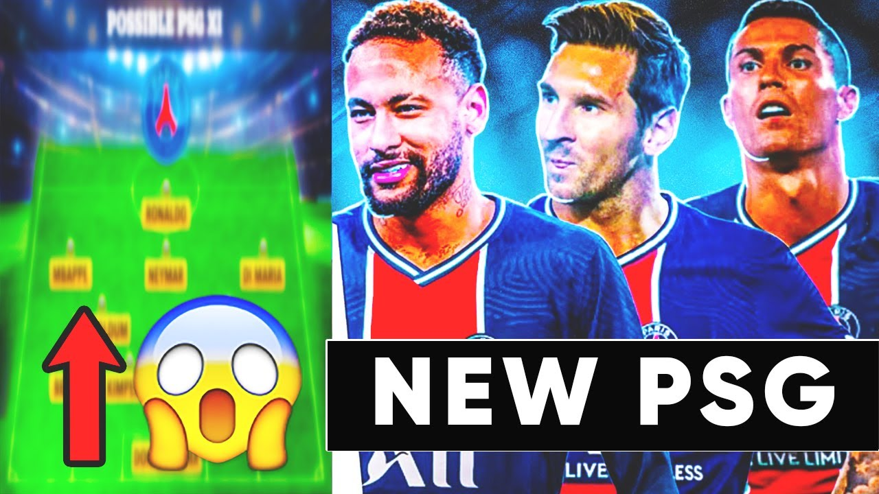 THE NEW PSG IS THE STRONGEST TEAM IN THE HISTORY!? PSG 2021/22! Ronaldo, Messi, Neymar, Mbappe