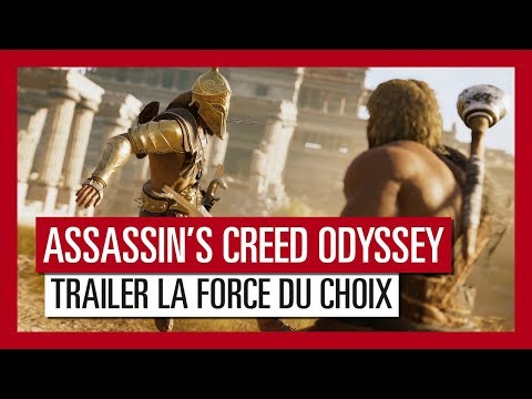 Assassin's Creed Odyssey - Trailer La Force du Choix [OFFICIEL] VF HD thumbnail
