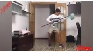 Cuando te toca la limpieza 😂😂😂😂
