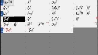 Smooth Beautiful Love chord progression (no piano) - Backing Play Along The Real Book JSB
