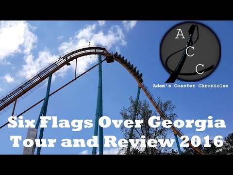Six Flags Over Georgia Tour and Review 2016