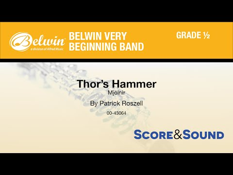 Thors Hammer, by Patrick Roszell - Score & Sound