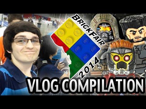 BrickFair 2014 - Chantilly VA : Vlog Compilation