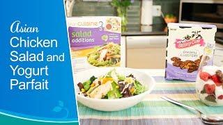 Asian Chicken Salad And Yogurt Parfait - Nestlé®