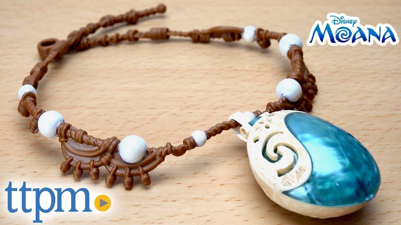 Disney S Moana Moana S Magical Necklace From Jakks Pacific