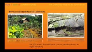 Wereldwijs havo 4/5 hoofdstuk 9 §4 de landbouw, Domein ontwikkelingsland Indonesië