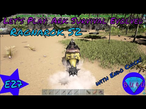 Swoosh Boom - Ark Survival Evolved with @Endo_Chick | Ragnarok | Modded | Let's Play | S2E27