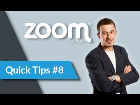 Quick Tips #8. Directing customers from stand to website