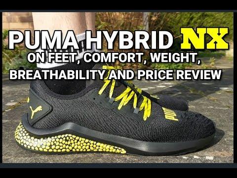 7181f402c43f PUMA HYBRID NX review - On feet