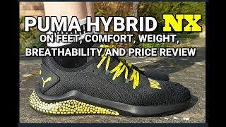PUMA HYBRID NX review - On feet, comfort, weight, breathability and price review