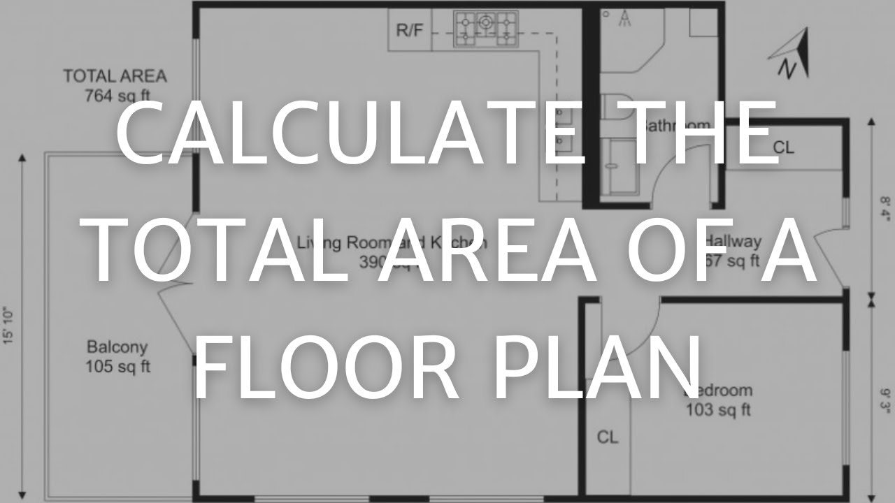 Calculate the total area of a floor plan roomsketcher - House plan drawing apps ...