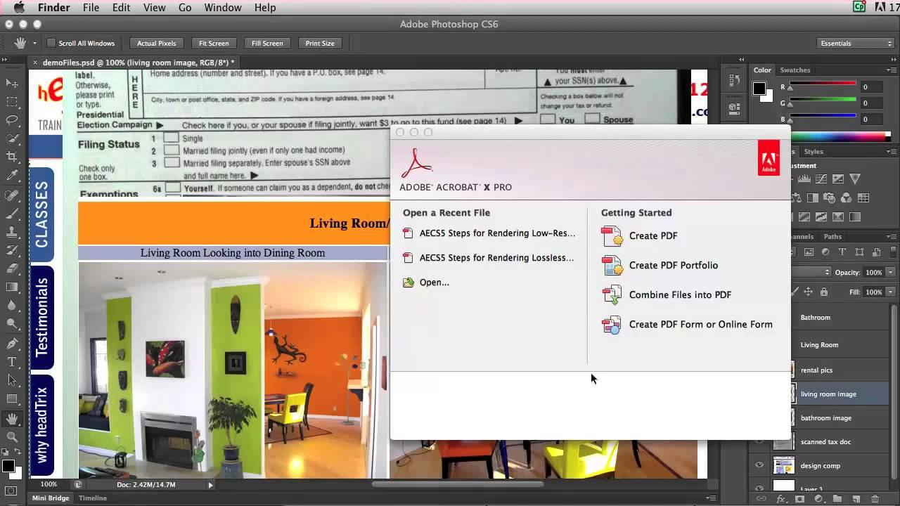 Creating a PDF Presentation Using Adobe