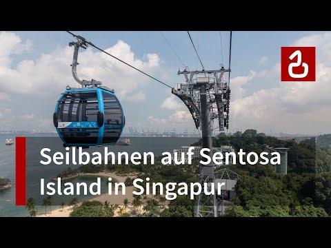 Seilbahnen Sentosa Island - Singapur (SG)