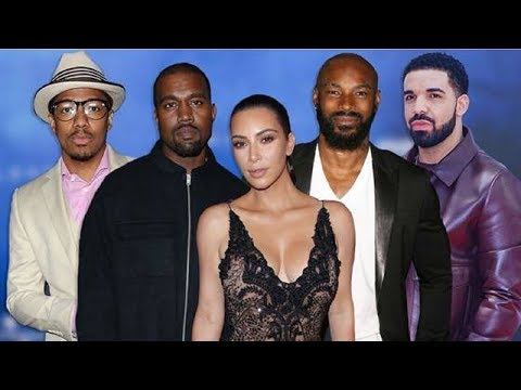 Kanye West Attempts To Check Drake, Nick Cannon & Tyson Beckford For Speaking On Kim Kardashian
