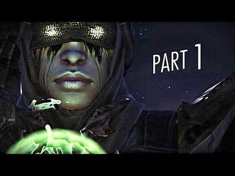 Destiny The Dark Below Walkthrough Gameplay Part 1 - The Fist of Crota (PS4)