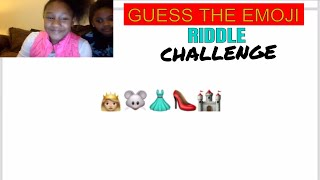 The Emoji Challenge!!! Can You Guess The Emoji Riddle?