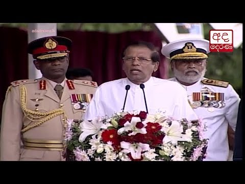 President Sirisena refutes allegations made by extremists regarding war heroes