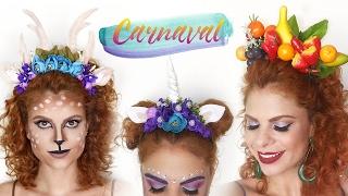 DIY - Tiaras bem barbiezinhas para o carnaval