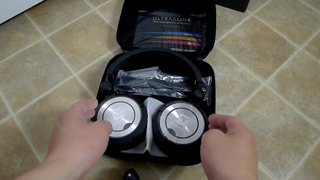 ultrasone pro 900 headphones unboxing youtube. Black Bedroom Furniture Sets. Home Design Ideas