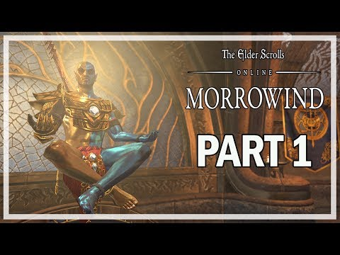 The Elder Scrolls Online Morrowind Walkthrough Part 1 Vivec – (Story Gameplay)