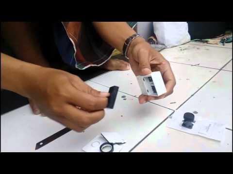 Tutorial mengganti lensa kamera yi dengan lensa gopro