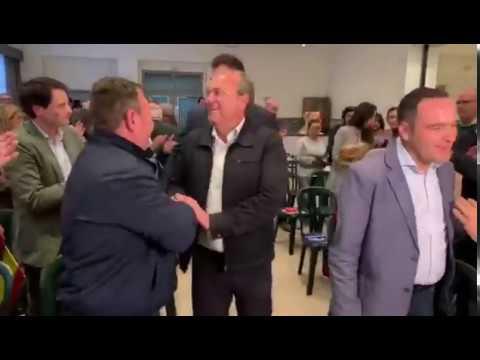 JA.Monago presenta al candidato a la alcaldía de Montijo, Eduardo Simoes