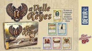 El Valle de los Reyes - Devir — Videoreseña