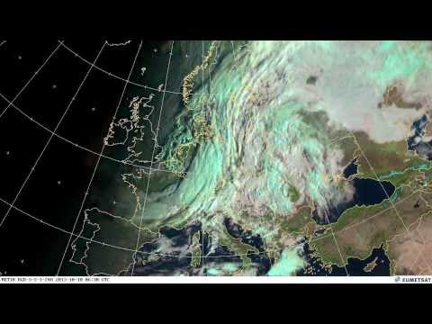 European weather October 2013