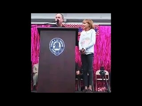 Grace VanderWaal awarded Key to Rockland - Suffern Parade October 1, 2016