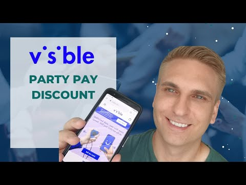 Visible Party Pay Discount: $25/Month Unlimited Plan on Verizon's Network