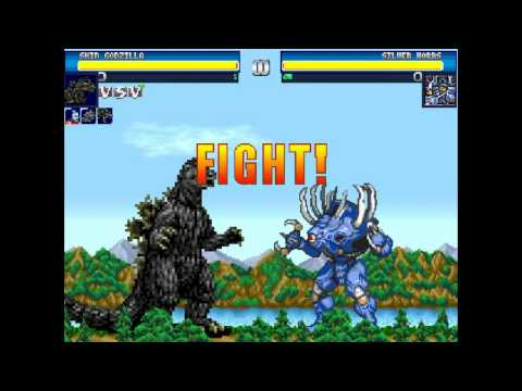 Godzilla Battle Legends Fangame