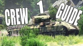 War Thunder Ground Forces | Untrained Crew VS 100% Crew Guide #1