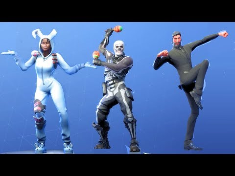 Fortnite All Dances Season 1-5 Updated to Shake It Up