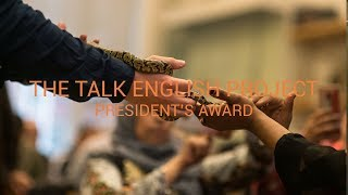 Talk English - Festival of Learning 2017 President's Award Winner