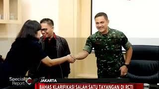 Download Video Pihak Management RCTI Datangi Markas Besar TNI AD Untuk Meminta Maaf - Special Report 22/01 MP3 3GP MP4