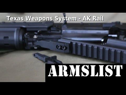Texas Weapons System AK Rail