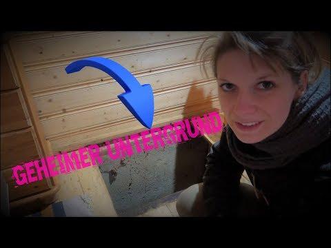 🌳🏡🌲waldhütte🦊#5-geheimer-mini-keller-/-tarnung+dachschaden---vanessa-blank-4k