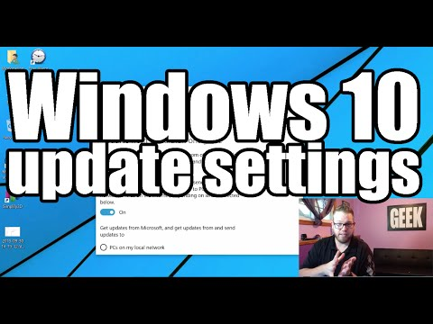Windows 10 Update Settings from YouTube · Duration:  4 minutes 39 seconds